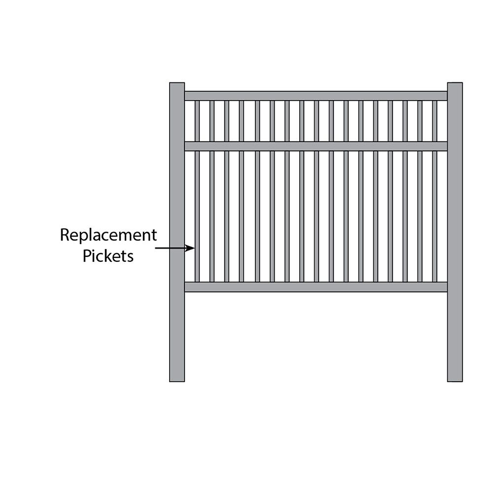Bufftech Victorian Fence - Replacement Pickets