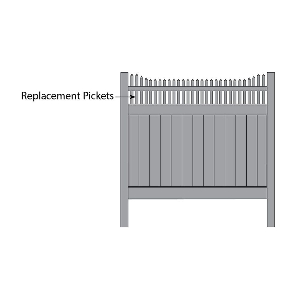 Bufftech Huntington Accent - Replacement Pickets