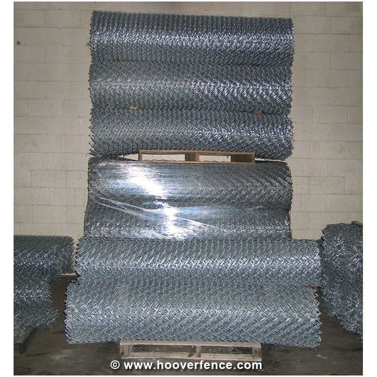 "9 Gauge x 2"" Chain Link Fence Fabric, Aluminized"