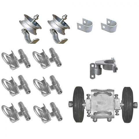 Chain Link Rolling Gate Hardware Kits