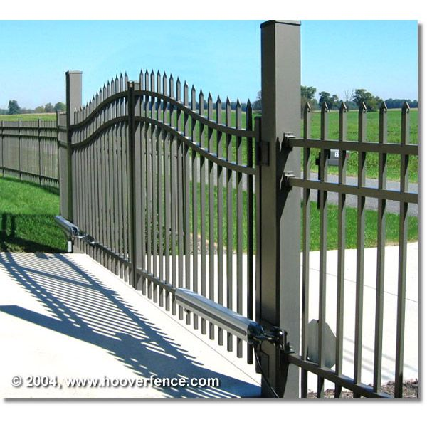 New Single Door Fence Gate with Spear Top 3 Sizes Selectable with Locks Garden