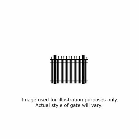 Ultra UAS-351 Single Swing Gate