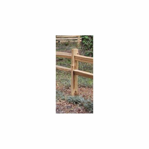 Wood Split Rail Posts - Western Red Cedar