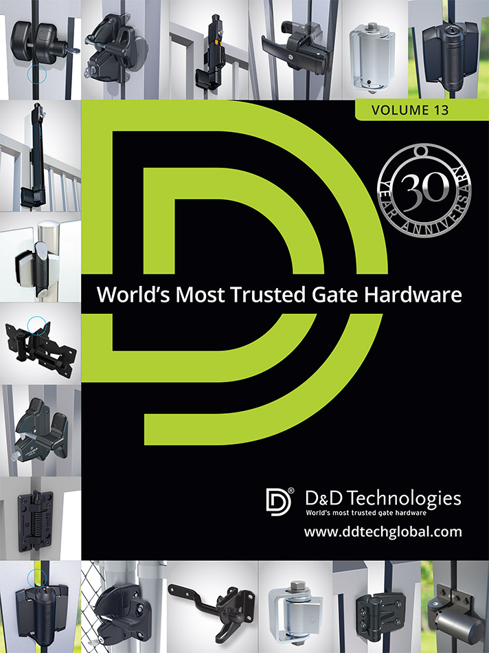 D&D Technologies Fence and Gate Hardware Catalog