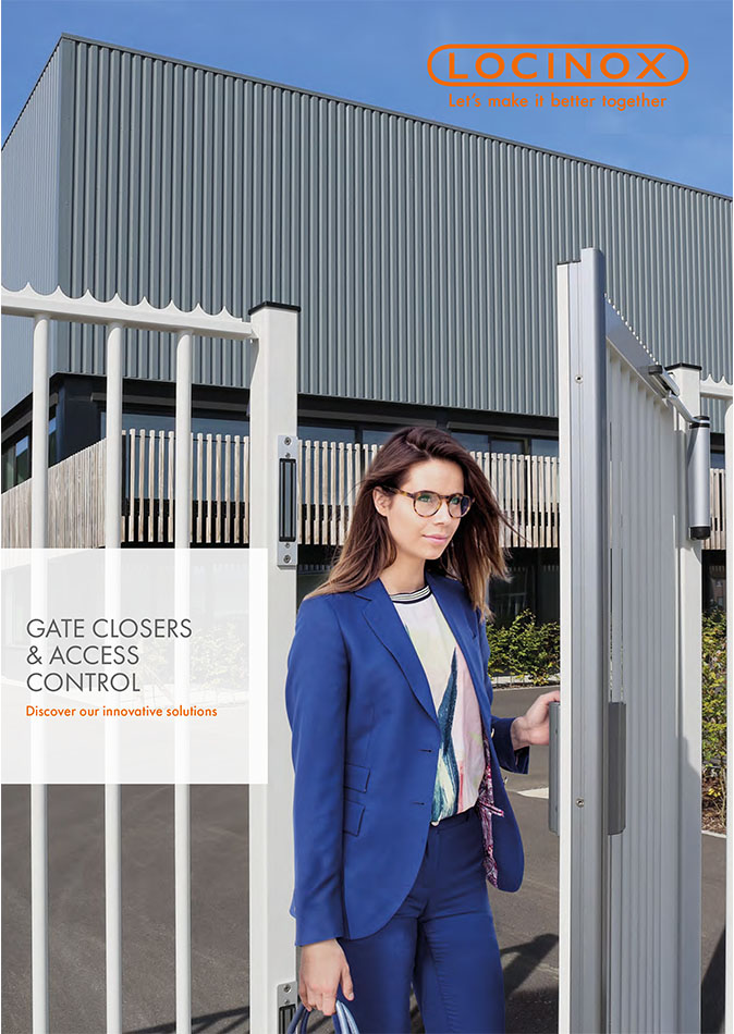 Locinox Gate Closers and Access Control Catalog