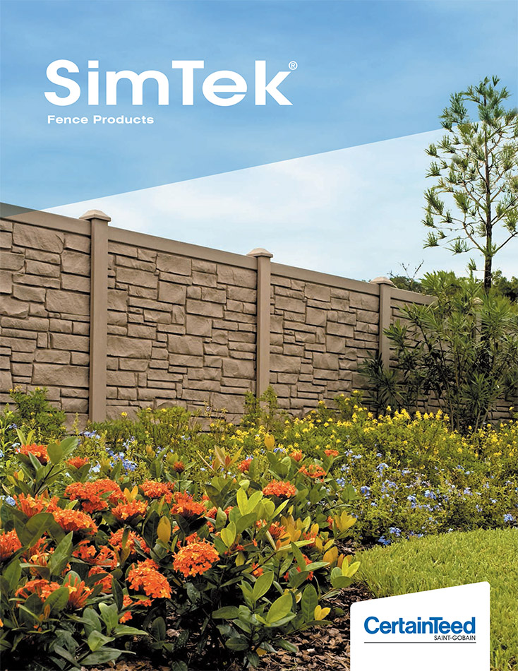 SimTek Fence Catalog