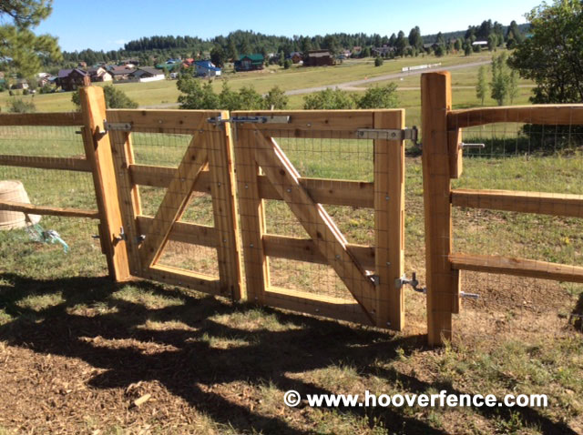 Customer Photo - DIY Maine Board Gate Installed With Snug Cottage Wood Gate Hardware