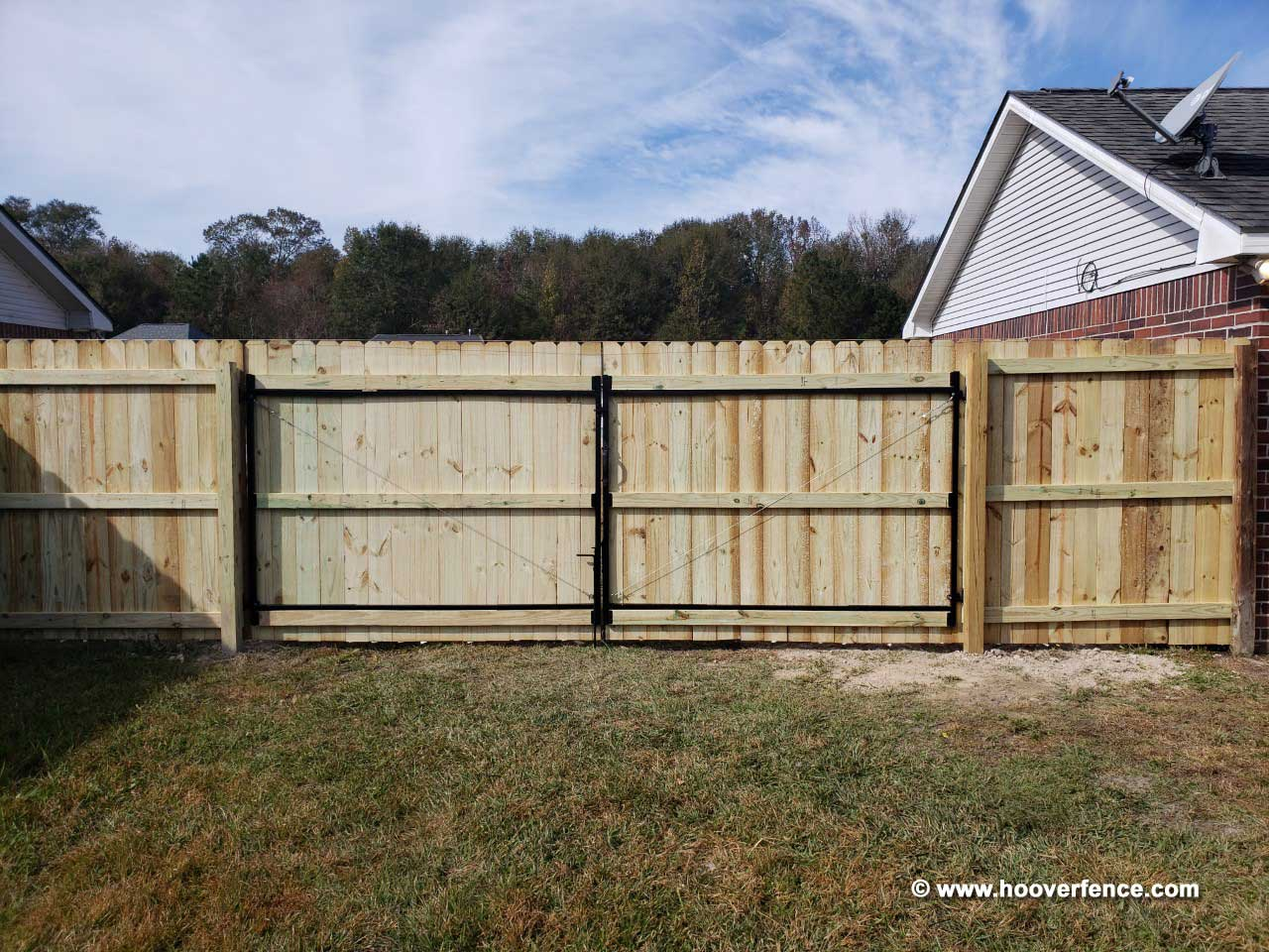 Customer Install - DAG-60 Adjust-A-Gate Installation Denham Springs, LA
