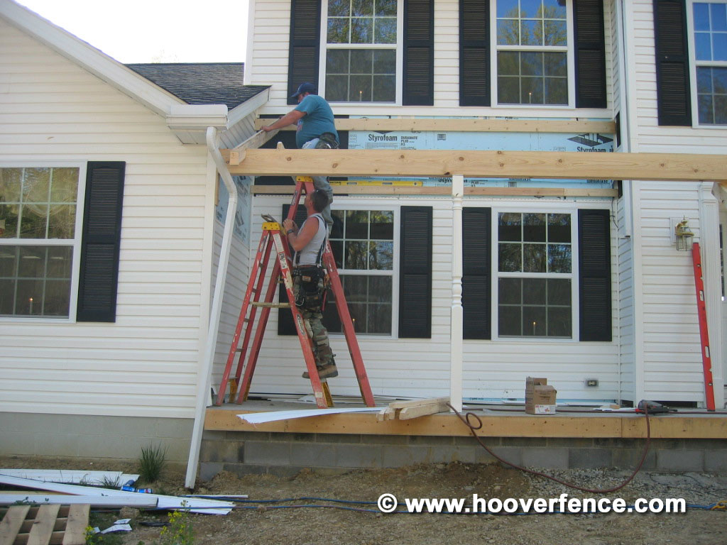 Kinzer Structural Porch Post
