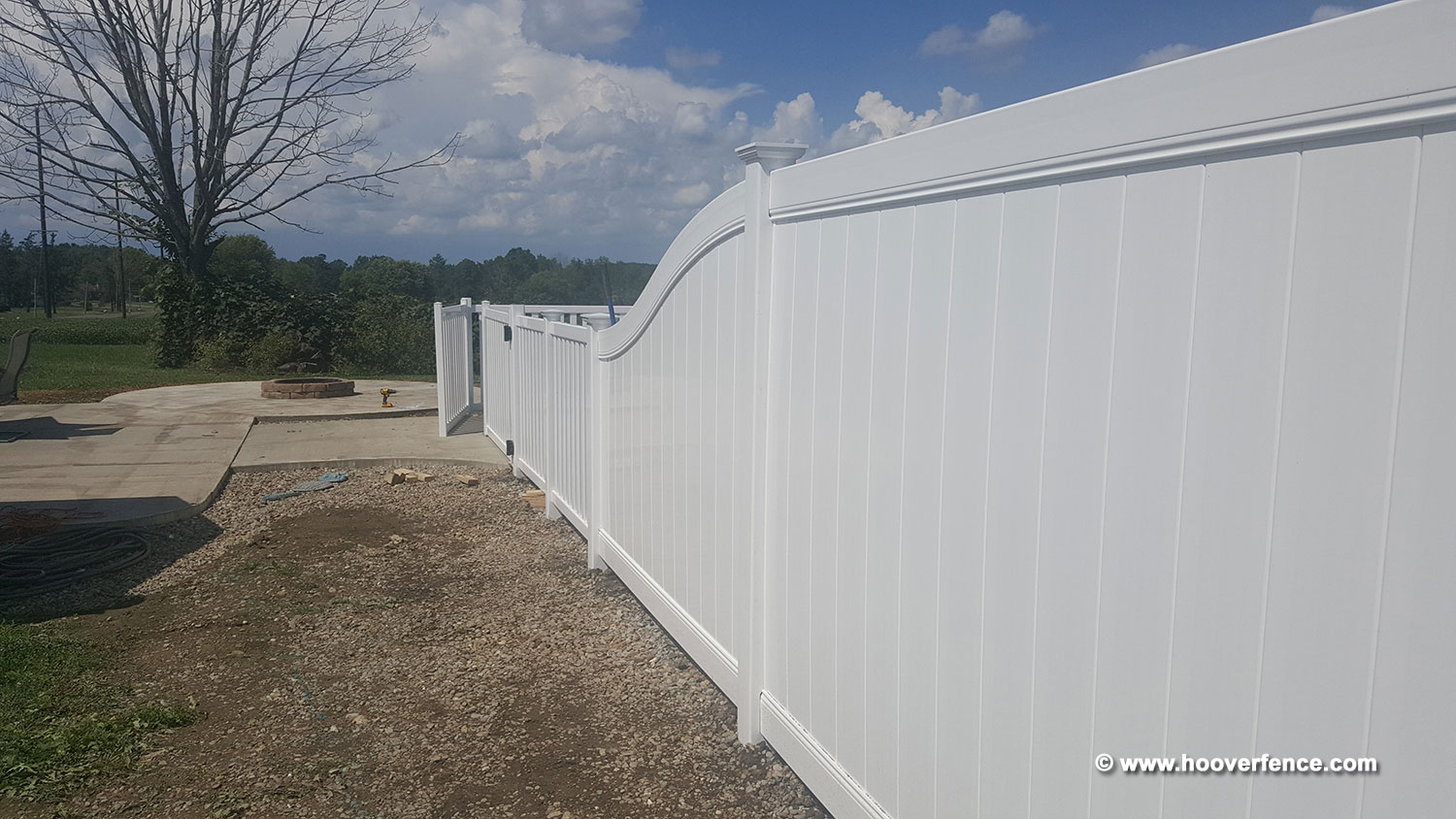 Bufftech Chesterfield Vinyl Fence Sections Hoover Co Gate For Transitional Putting Up Electric And Baron Installation By Southington Oh