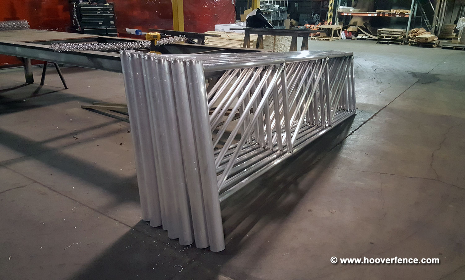 N-Series Aluminum Tubular Barrier Gate