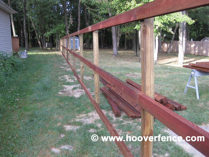 Hoover Fence Co Inatall - Solid Dog Ear Cedar Privacy Fence - Tallmadge Ohio