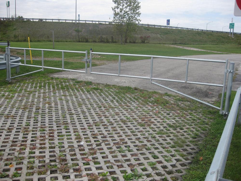 H Series Tubular Barrier Gate Kits Hoover Fence Company