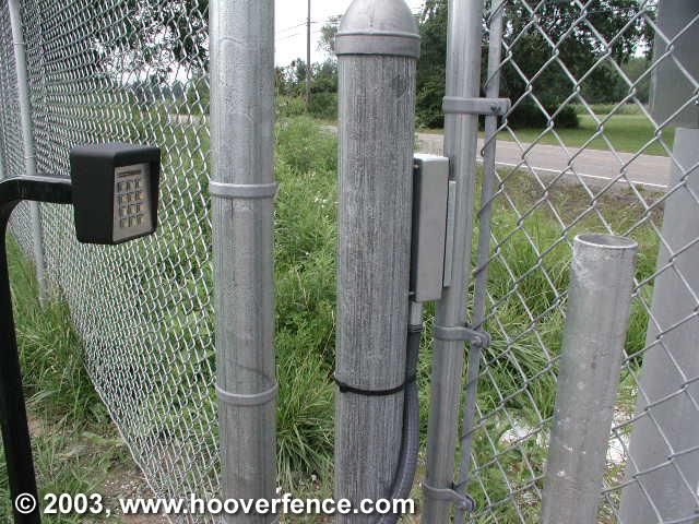 Cantilever Slide Gate Photos