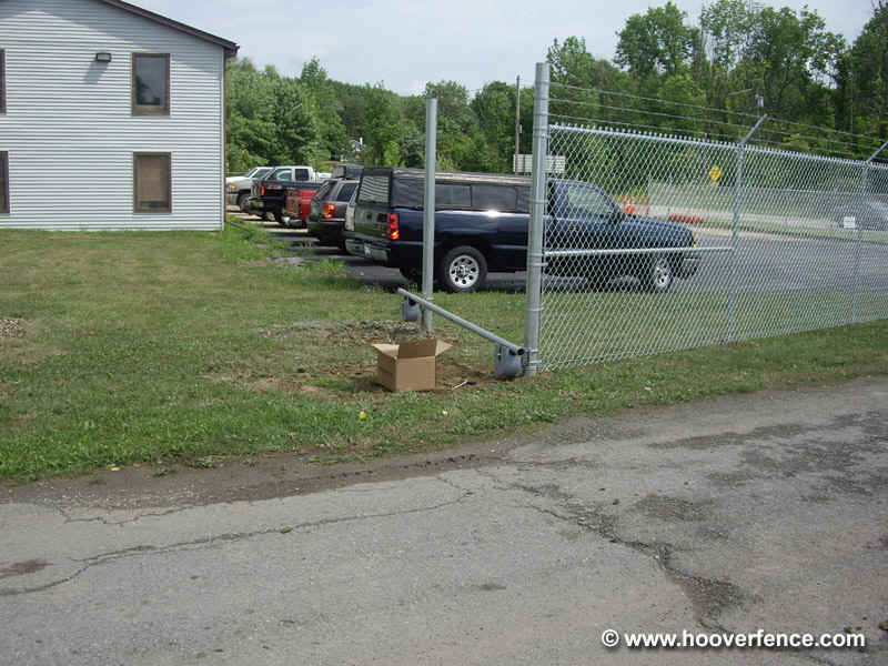 How To Install Chain Link Cantilever Gates