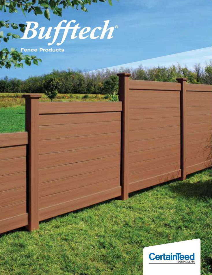 Bufftech Vinyl Fence Catalog