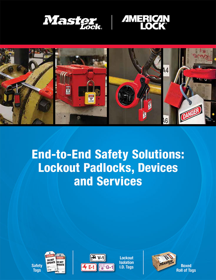 MasterLock and AmericanLock Safety and Lockout Products Catalog
