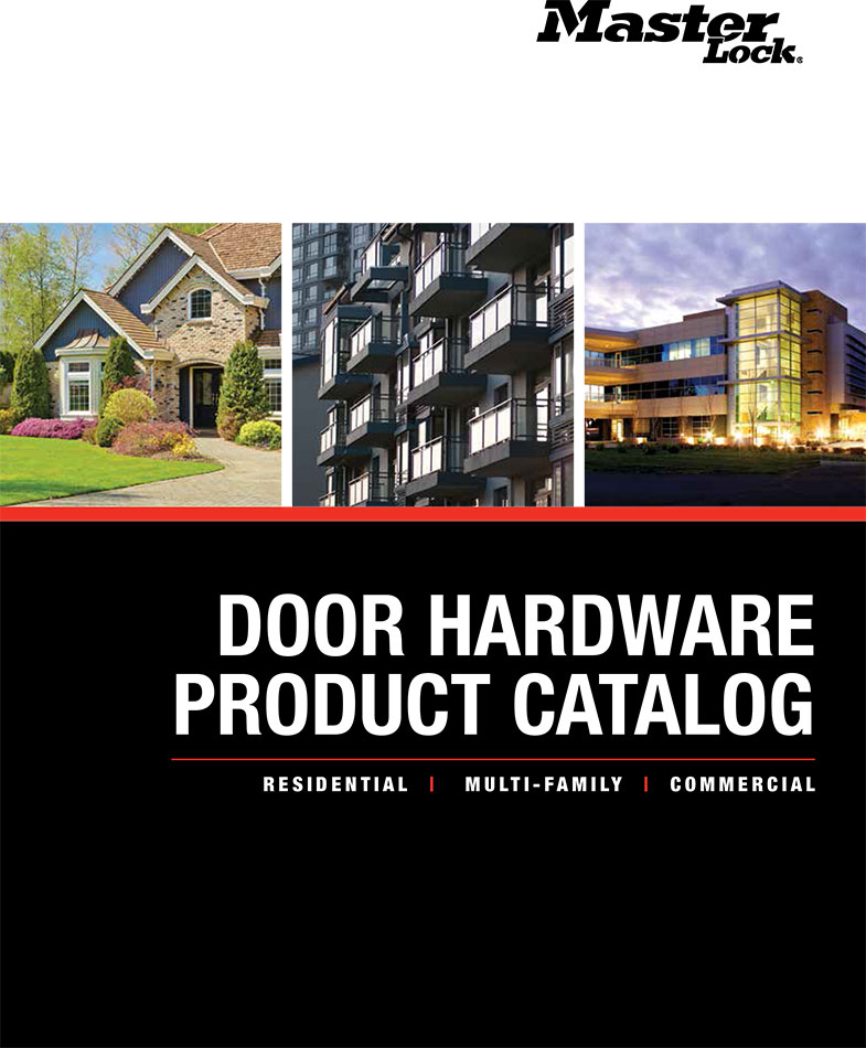 MasterLock Door Hardware Catalog