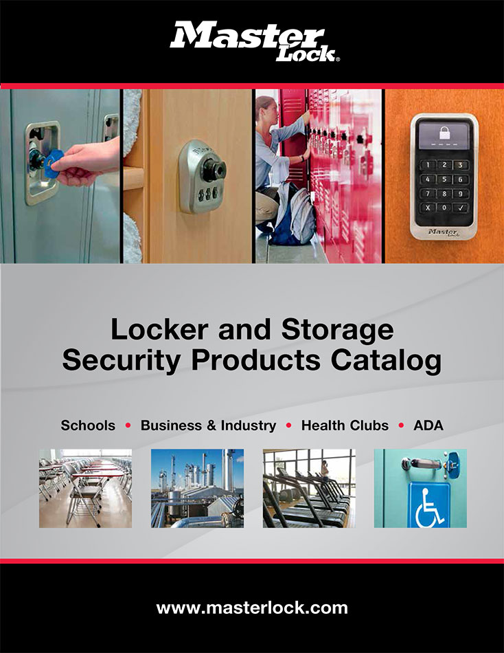 MasterLock Locker and Security Products Catalog