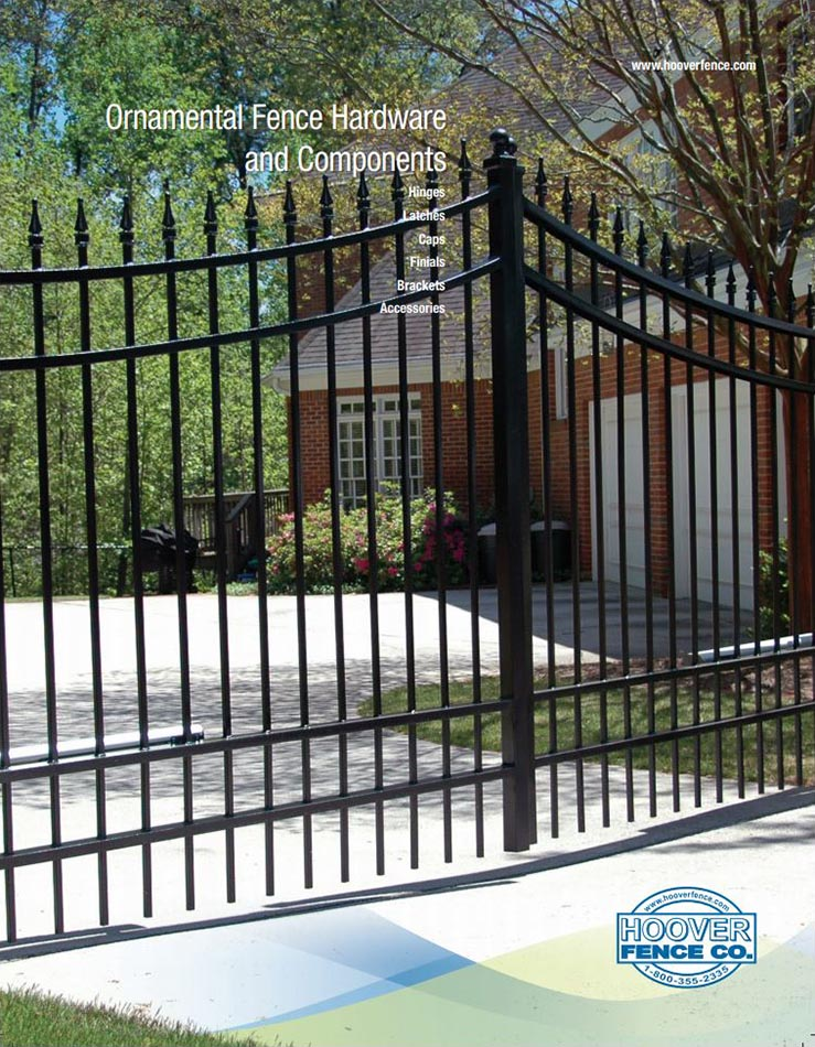 Nationwide Industries Ornamental Fence Gate Hardware Catalog