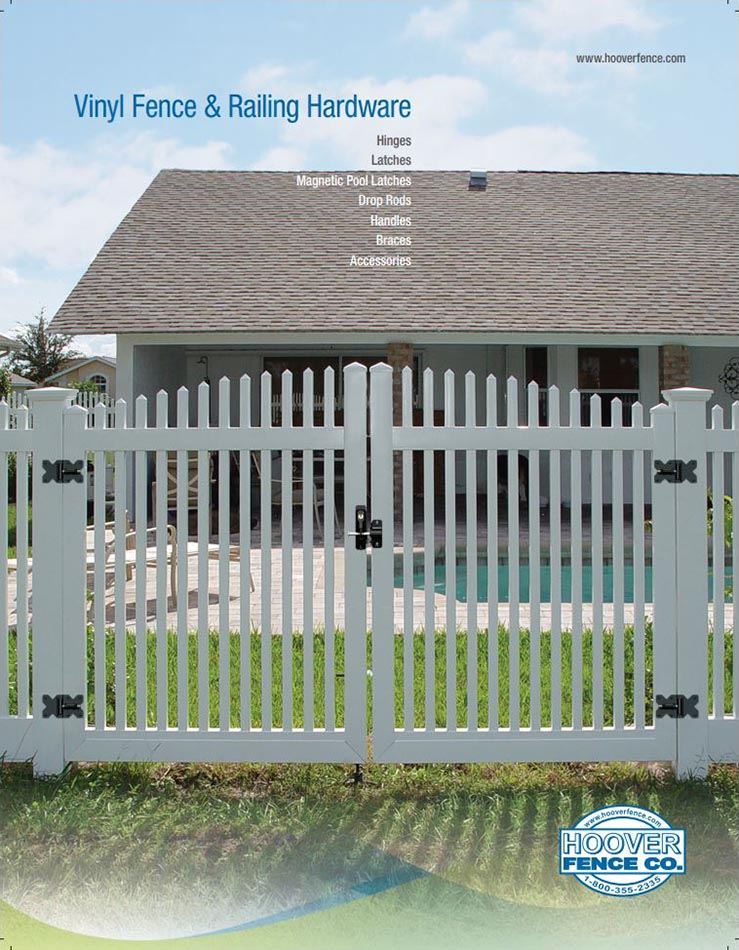 Nationwide Industries Vinyl Fence Gate Hardware Catalog