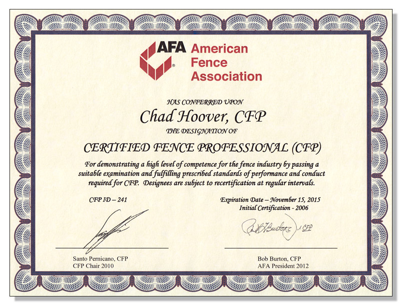 certification cfp roof template certificate word examples hooverfence