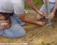 Installing Tension Wire