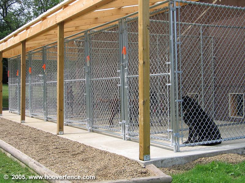 Hfc Dog Kennel Installation Photos