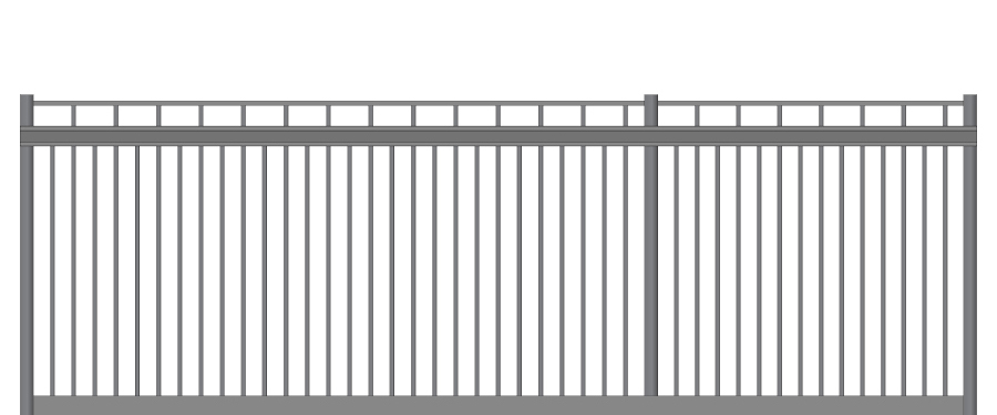 Ideal Ornamental Aluminum Cantilever Slide Gates