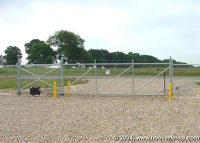 Chain Link Cantilever Gate Installation Manual