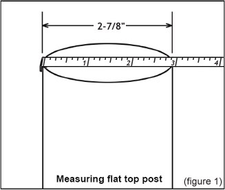 Measuring Round Post - Figure 1
