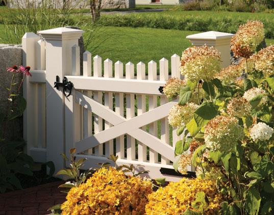Garden Gate Plans. Newport Picket Gate