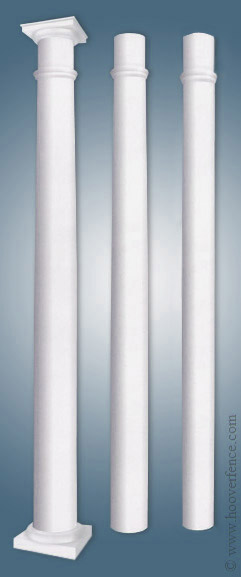 porch posts fencing vinyl series sheds columns myerstown superior