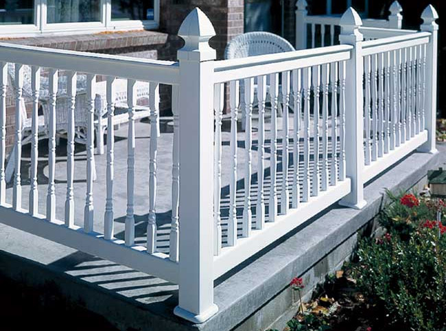 Evernew Oxford Vinyl Railing