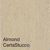 Bufftech Color Sample - Almond CertaStucco