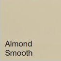 Bufftech Color Sample - Almond Smooth