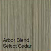 Bufftech Color Sample - Arbor Blend Select Cedar