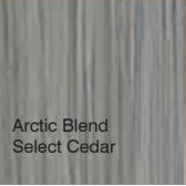 Bufftech Color Sample - Arctic Blend Select Cedar