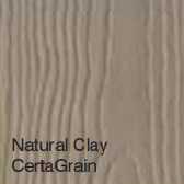 Bufftech Color Sample - Natural Clay CertaGrain