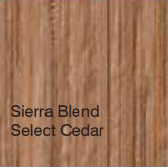 Bufftech Color Sample - Sierra Blend Select Cedar
