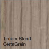 Bufftech Color Sample - Timber Blend CertaGrain