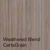 Bufftech Color Sample - Weathered Blend CertaGrain