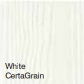 Bufftech Color Sample - White CertaGrain