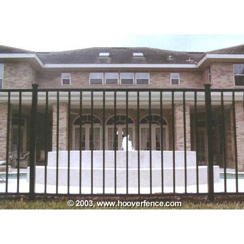 Ideal Alamo 400 Aluminum Fence Section Hoover Fence Co