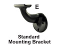 Round Aluminum Secondary Handrail - Part E