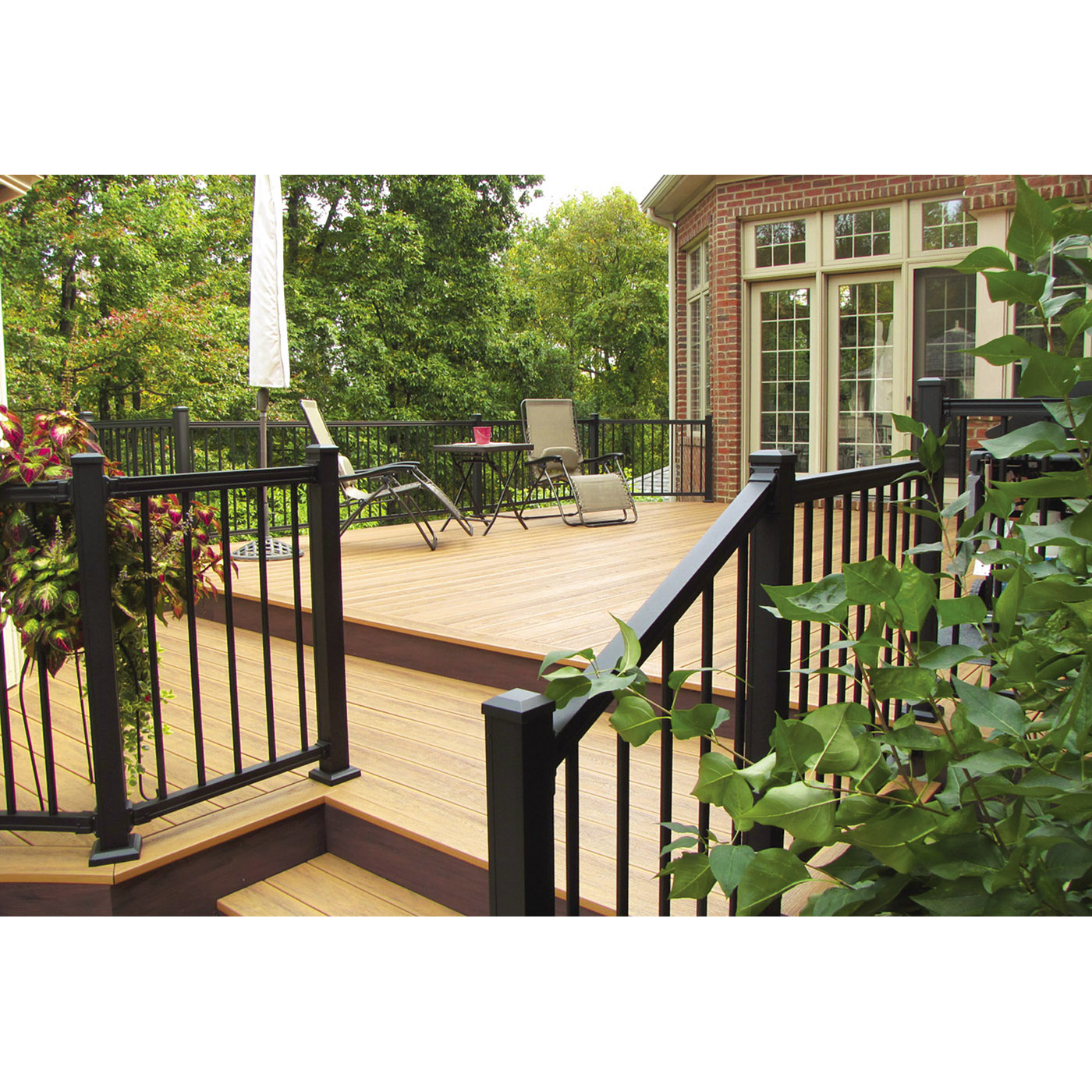 American Railing with Round Balusters