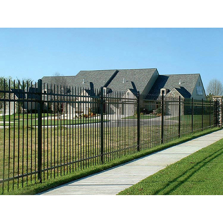 Ameristar Montage Plus Classic Steel Fence Section 3 Rail Hoover Fence Co