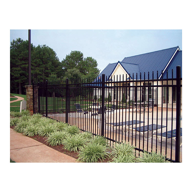 Ameristar Montage Classic Steel Fence Section 3 Rail
