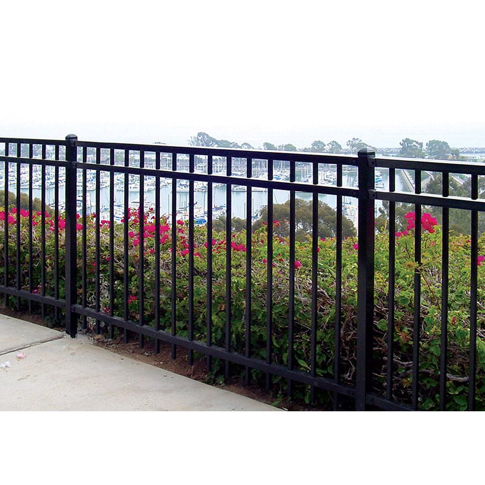 Ameristar Montage Majestic Steel Fence Section 3 Rail