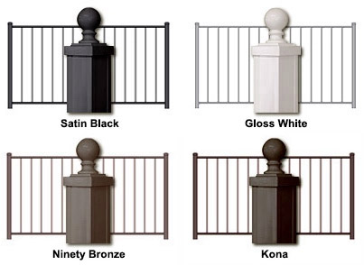 Arabian Railing - Color Choices